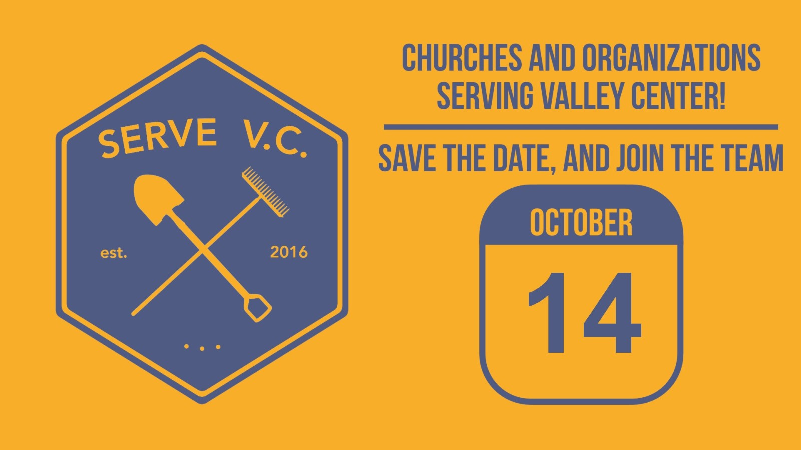 Serve VC save the date